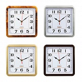 Часы настенный La Decor Chrono, 23*23см, пластик, 4 цвета, 1*АА
